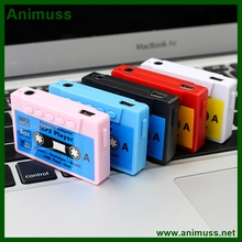 Nostalgic mini portable magnetic tape MP3 player cassette walkman supports SD TF card
