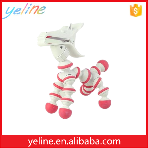 Desk phone display horse stand for all mobile phone