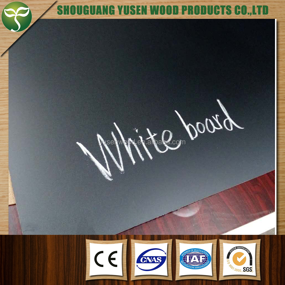 6mm melamine cheap erase writing board