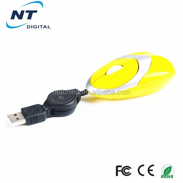 retractable cute laptop mouse for kids
