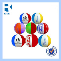 Customized Printed colorful bouncy Beach Ball