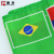China Online Shopping Wholesale Football Flags 3X5 Brazilian Flag