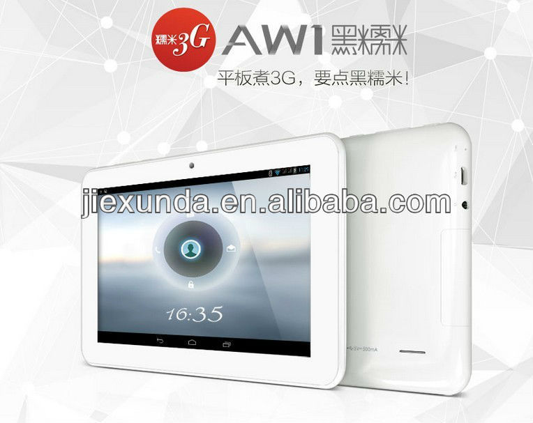 "New Arrivals Ainol AW1 Phone Call Tablets 7"" 800x480 pixels Allwinner A20 Dual Core 512MB RAM Android 4.2 WCDMA"