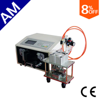 AM608 Flat cable spitter machine for 12P wires flat cable