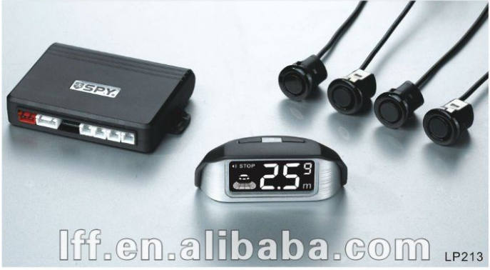 Modern & popular design,Wireless back up sensor with LCD display