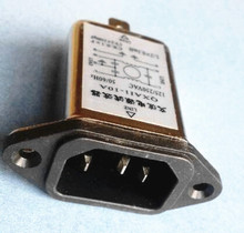 Single Phase with IEC connector 250VAC 3A 6A 10A 20A radio noise filter
