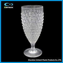Break-resistant high quality Tritan BPAfree goblet plastic cup