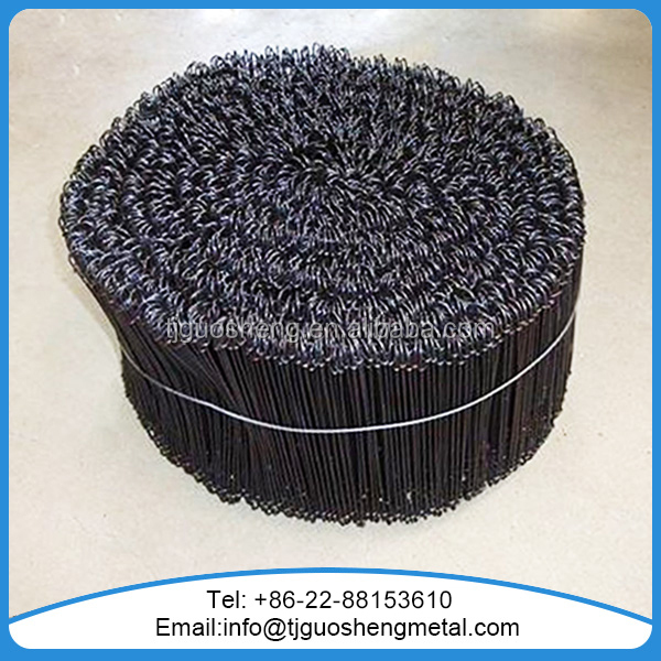 Double looped tie wire /bar tie wire /black annealed tie wire