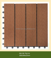 FESTECH WPC DIY tiles/ Cheap Portable Garden WPC Fence/eco friend