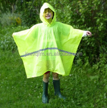 bib overalls cheap kids raincoat square poncho children's ponchos