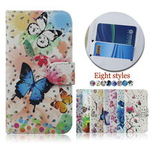 Wholesale color printing crystal diamond case cover for infinix hot s , flip leather case for infinix hot s
