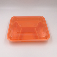 fast food Clean Clear 500ml Disposable Plastic Container