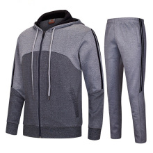 China custom training & jogging wear /men hoodies and pants tracksuit/custom men sport wear tracksuit