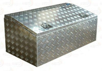 Aluminum Low Profile UTE Tool Boxes/OEM Customized Aluminum Ute Truck Tool Box/Aluminum UTE Boxes