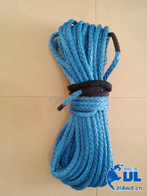 4X4 accessories hand winch parts winch rope synthetic