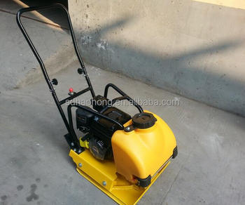 HaoHong unidirectional vibrating plate compactor machine with high quality