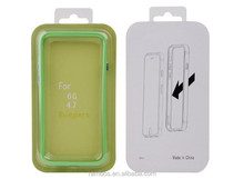 Cell Phone Border TPU + PC Frame Bumper Case for HTC One M8 for HTC One M7