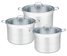 Acero inoxidable stock pot Set