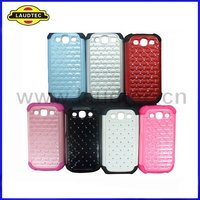 2 in 1,Silicone +Plastic Case for Samsung Galaxy S3 i9300,Starry Sky Pattern design,New arrival----Laudtec