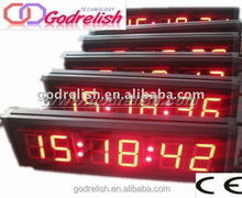 Brand new Big Time Digital Wall Clock with CE ROHS UL