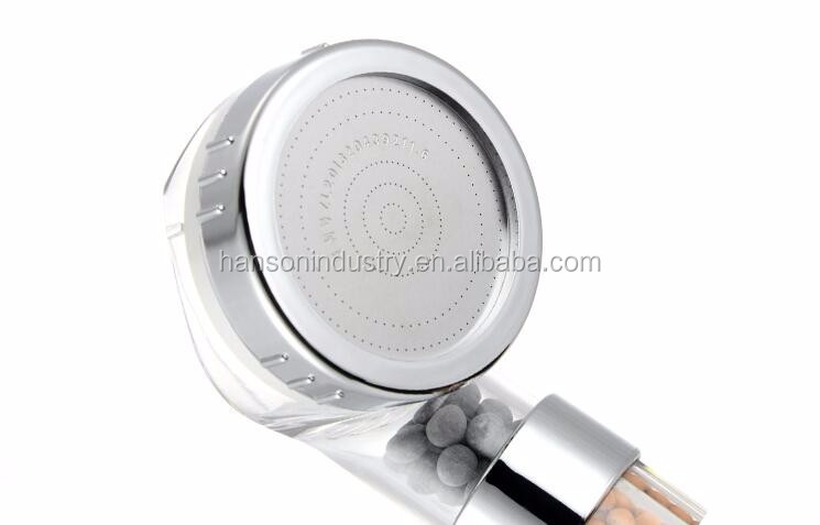 2017 new increase prssure rainfall ionic shower head