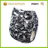 Hot Selling Alva Reusable Printed Cloth Diaper With Insert Manufactures