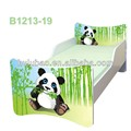 wholesales child cot bed E1 MDF furniture children bed 1213-19