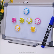 Dry erase magnetic aluminum and wooden frame interactive whiteboard in different sizes