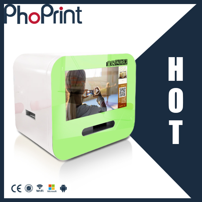 New product good quality photo printer insta-gram boft wechat mobile photo booth mini ad machine oem factory supply