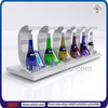 TSD-A761 china factory Custom retail store bols acrylic table wine bottle holder with led/bottle wine rack/lucite stands