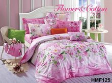 printing cotton adult bedding set sexy/bed sheet dealers in uae/polyester quilt
