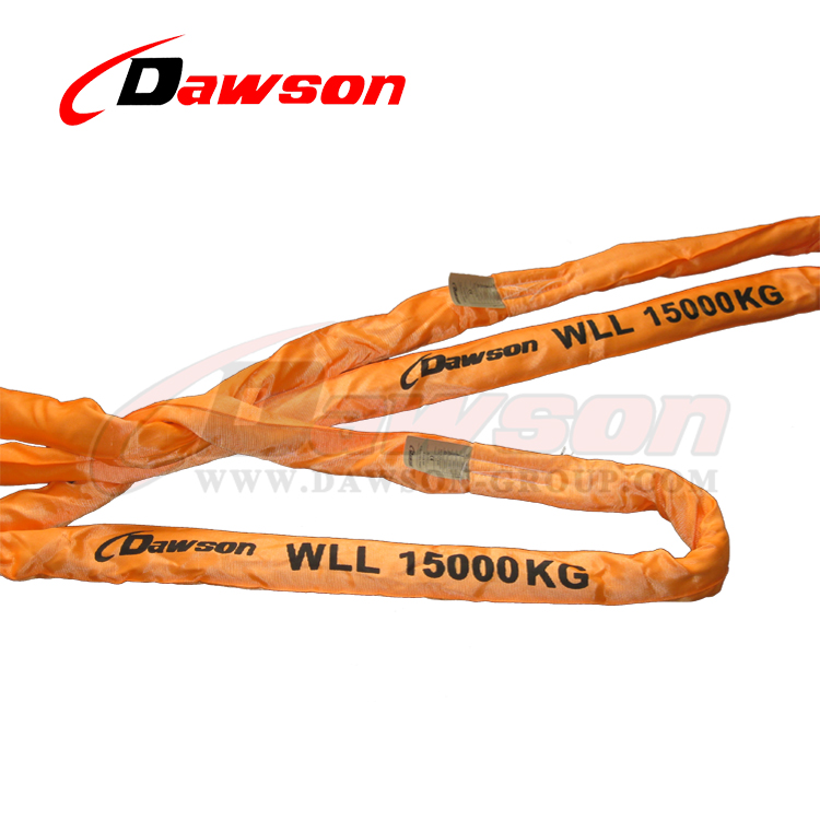 15T Heavy Duty Endless Polyester Round Sling