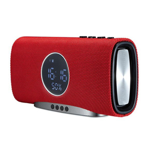 Alarm clock bluetooth speaker DSP sound effects processing speaker bluetooth 2000mAh battery portable bluetooth speaker