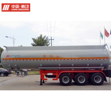 China custom liquid tank semi trailers for NaOH solution