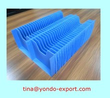 Corrugated plastic box with partition /corrugated pp box