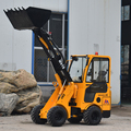 Chinese supplier articulated hydraulic mini compact small compact wheel loaders for sale
