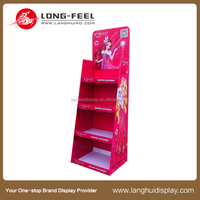 new products cardboard pop display