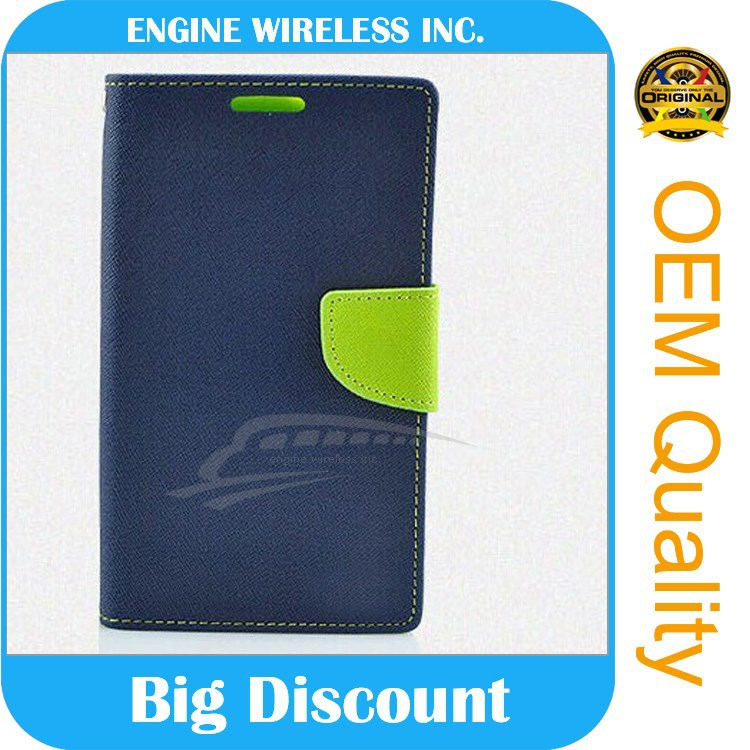 ShenZhen factory leather flip case for sony xperia sola mt27i