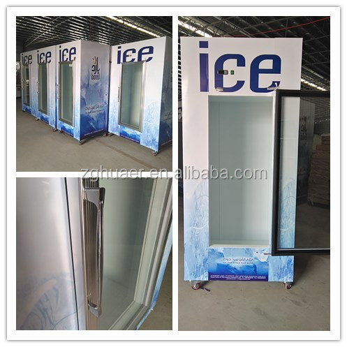 Ice merchandisers for bagged ice, ice storage freezer for <strong>sale</strong>