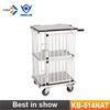 KB-514NAT Small Size Pet Trolley Anti-rust Aluminum Dog Trolley Wholesale Pet Carrier