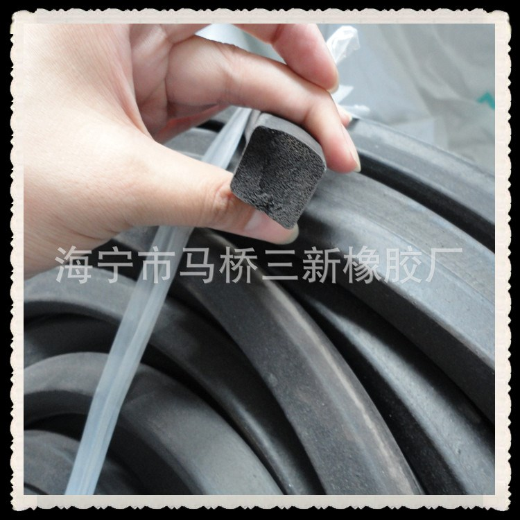 EPDM foam strip rubber sealing strip
