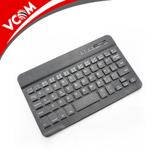 Korean/Engligh/Russian Slim Mini Bluetooth Wireless 4.0 Keyboard for Apple for Android for Windows