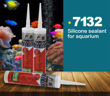 Structural silicone sealant for glass fish tank