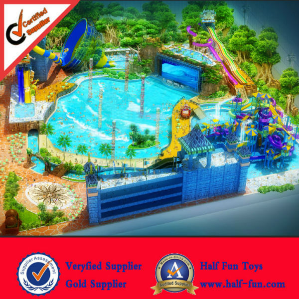 Full Design Promotional Water Park Design Build
