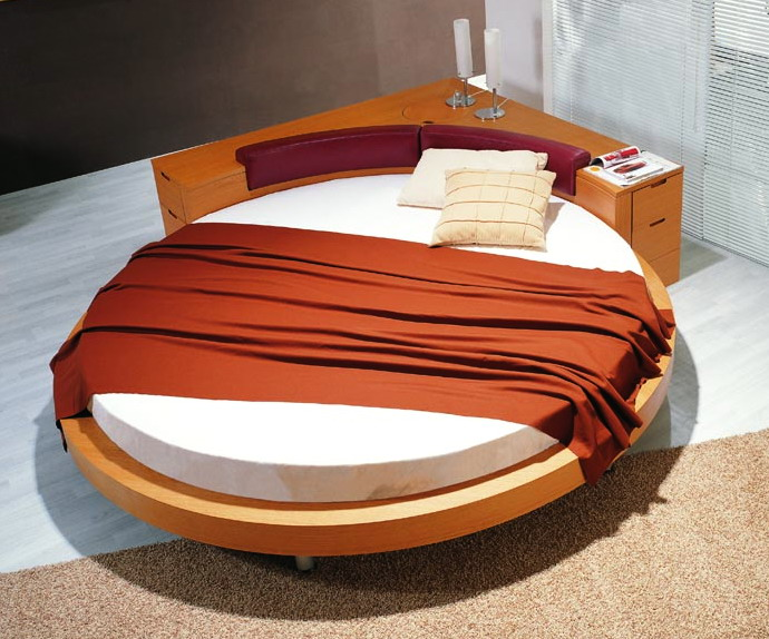Round Bed (KC-KB09)