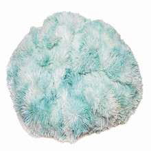 Soft Shaggy Fuzzy Fur Long Mangolian Elegant PV plush fabric for blankets