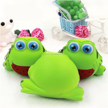 12CM Jumbo Squishy Cute Kawaii Frog Doll Squishy Super Slow Rising Phone Straps Sweet Cream Scented Bread Kid Xmas Toy