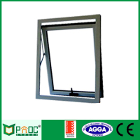 Cheap aluminum top hung windows for sale, used commercial windows