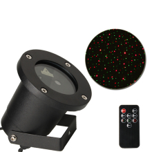 Mini Stage Lighting Outdoor Red Green Star Laser light IP65 Waterproof Trees Christmas Decorative Garden Yard Lighting