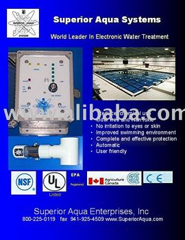 Pool Disinfection Products With Silver Copper Ionization Systems Buy Pool Disinfection Copper